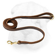 Stylish Genuine Leather Shar Pei Leash