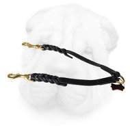 Leather Braided Shar Pei Coupler