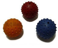 Rubber Squeaky Ball Dog Toy 2 1/3 ''(6cm) for Sharpei breed