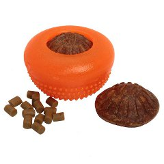Rubber Treat Holder for Shar Pei Retrieve Training