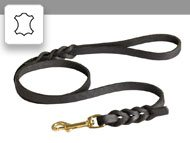 Leather leashes