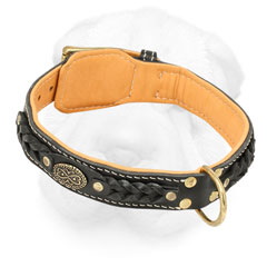 Shar-Pei Elegant Collar Decorated with Braid