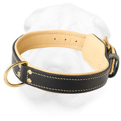 Shar-Pei Elegant Collar with Nappa Padding