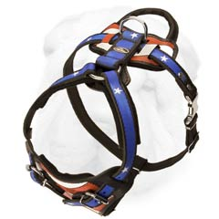 Durable Adjustable Training Shar Pei Breed Harness for Snug Fit