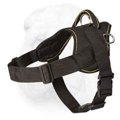 Multipurpose Nylon Shar Pei Breed Harness for All Weathers