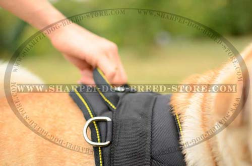 Shar Pei Breed Nylon Harness for Multipurpose Use