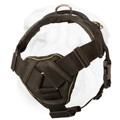Durable Nylon Shar Pei Dog Harness with Chest Plate Great for Tracking and Walking