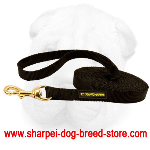 Shar Pei Walking and Training Leash Made of Nylon