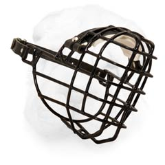 Wire Cage Winter Muzzle