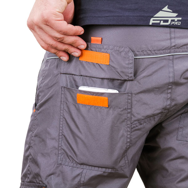 Comfy Design FDT Professional Pants with Handy Side Pockets for Dog Training