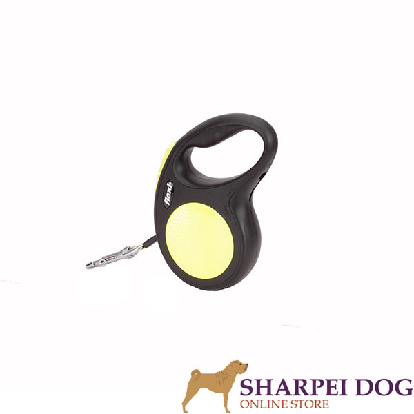Everyday Walking Total Comfort Retractable Leash Neon Style