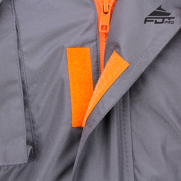 Durable Velcro Fastening on Dog Training Jacket for Handy Use