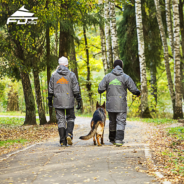 Pro Dog Training Jacket of Top Notch for Everyday Activities