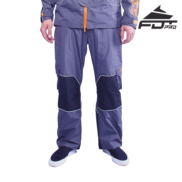 FDT Professional Pants of Grey Color for Everyday Activities