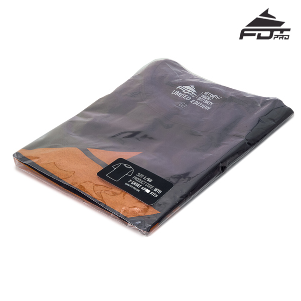 Packed Professional T-shirt of Dark Grey Color