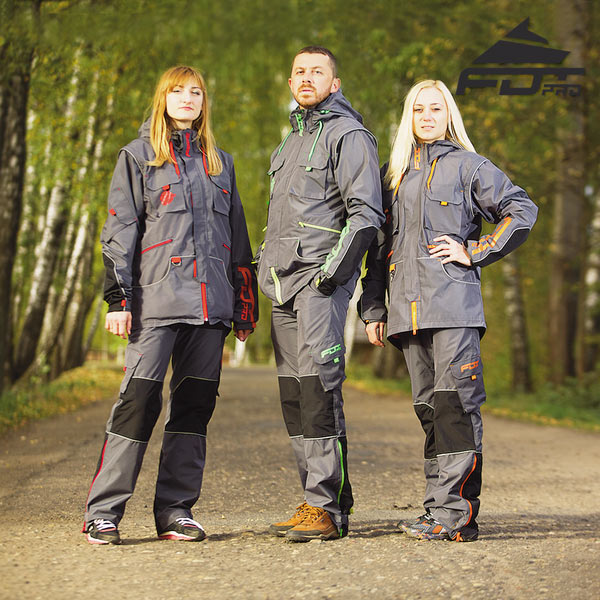 Strong Dog Training Suit for Any Weather
