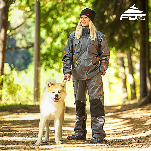 Men / Women Design Dog Tracking Jacket of High Quality Materials